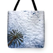 Palm And Dramatic Sky Tote Bag