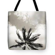 Palm And Sky Tote Bag