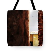 Palm And Wall Tote Bag