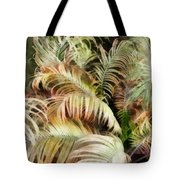 Palm Bank Tote Bag