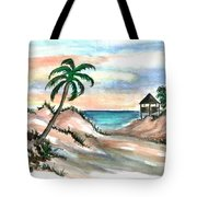 Palm Cost Tote Bag