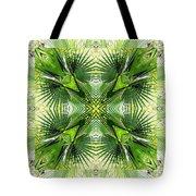 Palm Kaleidoscope 6 Tote Bag