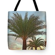 Palm On The Avenida Tote Bag