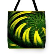 Palm Tree Abstract Tote Bag
