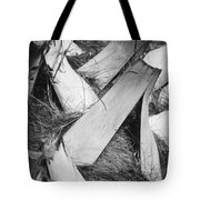 Palm Tree Macro Tote Bag by Adam Romanowicz