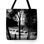 Palm Tree Silouette Tote Bag