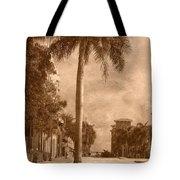 Palm Tree Tote Bag by Trish Tritz