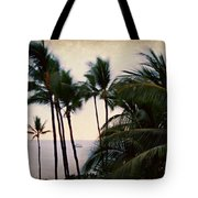 Palms In The Breeze Tote Bag