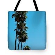 Palms Over Oak Tote Bag