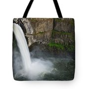 Palouse Falls In Spring Tote Bag