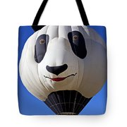 Panda Bear Hot Air Balloon Tote Bag