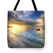 Panglao Island Sunrise Tote Bag