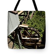 Panning For Gold In Virginia City Nevada Tote Bag