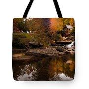 Panorama  Glade Creek Mill Tote Bag