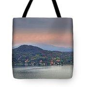 Panorama Lake Maggiore Tote Bag