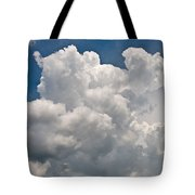 Panoramic Clouds Number 1 Tote Bag