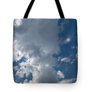Panoramic Clouds Number 1o Tote Bag