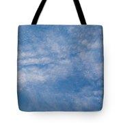 Panoramic Clouds Number 4 Tote Bag