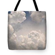 Panoramic Clouds Number 9 Tote Bag