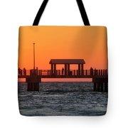 Panoramic Pier Tote Bag