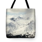 Panoramic View Of Snow-covered St Tote Bag