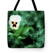 Pansy Face Tote Bag