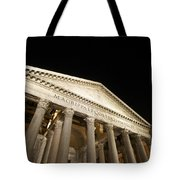 Pantheon At Night. Rome Tote Bag