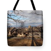 Papa Toms Cabin In The Woods Tote Bag