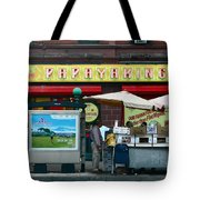 Papaya King Tote Bag