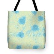 Paper Flowers - Aqua Tote Bag