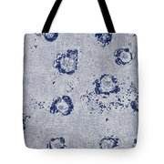 Paper Flowers - Blue Tote Bag