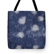 Paper Flowers Abstract - White Tote Bag