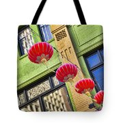 Paper Lanterns Tote Bag