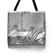 Paper Machine, C1880 Tote Bag