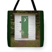 Paper Moon Outhouse Tote Bag
