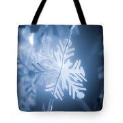 Paper Snowflake Tote Bag