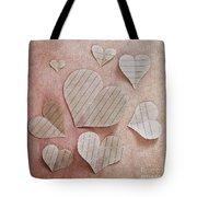 Papier D'amour Tote Bag