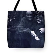 Pappa Hans With Daughter Colette Tote Bag
