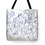 Parable Of The Ten Virgins Tote Bag