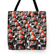 Parade March Indian Army Tote Bag