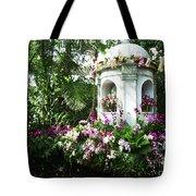 Paradise Gazebo Tote Bag