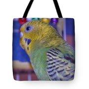 Parakeet Tote Bag by Saifon Anaya