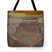 Parallel Skates Tote Bag by Diane montana Jansson