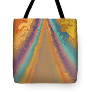 Parameter Space Mountain Tote Bag