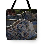 Parc Guell Barcelona Tote Bag