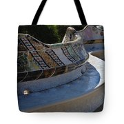 Parc Guell Spain Tote Bag