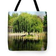 Parc Monceau Paris Tote Bag