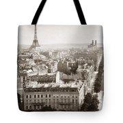 Paris: Aerial View, 1900 Tote Bag