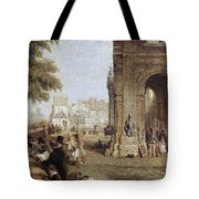 Paris: Book Stalls, 1843 Tote Bag