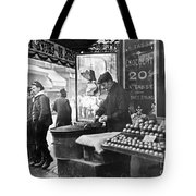 Paris: Chestnut Vendor Tote Bag